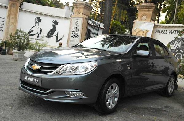 Egypt July 2014 Chevrolet Optra Breaks Into Top 5 Best Selling Cars Blog