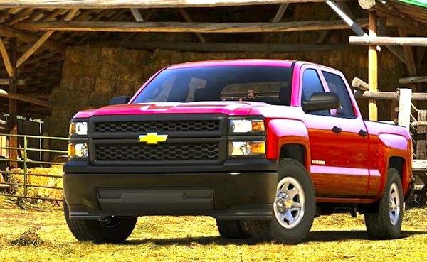 Chevrolet Silverado 1500 WT. Picture courtesy Chevrolet
