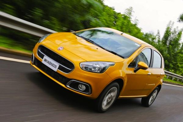 Fiat Punto Evo India 2014. Picture courtesy of zigwheels.com
