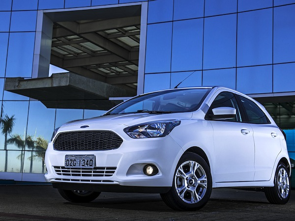 Ford Ka Brazil August 2014. Picture courtesy of car.blog.br