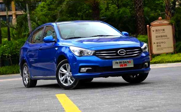 GAC Trumpchi GA3S China. Picture courtesy of autohome.com.cn