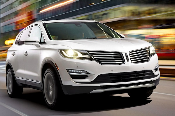 Lincoln MKC USA August 2014