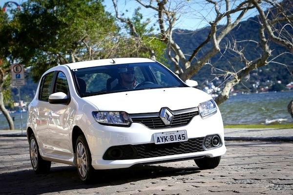 Renault Sandero Uruguay June 2016. Picture courtesy of uol.com.br