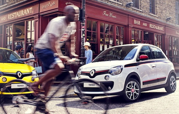 Renault Twingo France August 2014. Picture courtesy of largus.fr