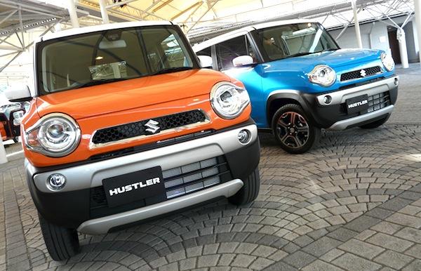 Suzuki Hustler Japan August 2014. Picture courtesy of webcg.com