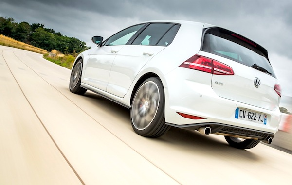 VW Golf Europe 2014. Picture courtesy of largus.fr