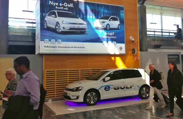 VW e-Golf Norway August 2014