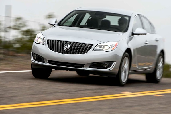 Buick Regal Canada September 2014. Picture courtesy of motortrend.com