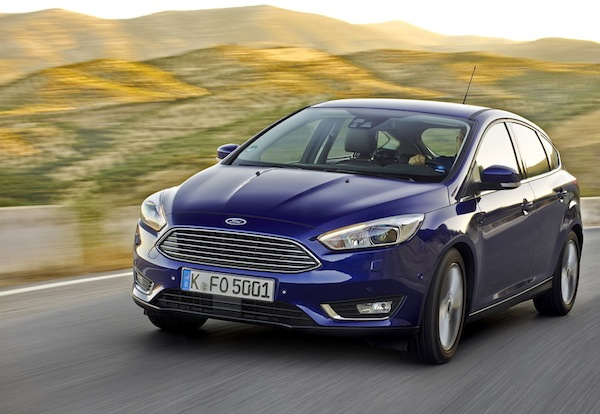 Ford Focus Latvia September 2014. Picture courtesy of largus.fr