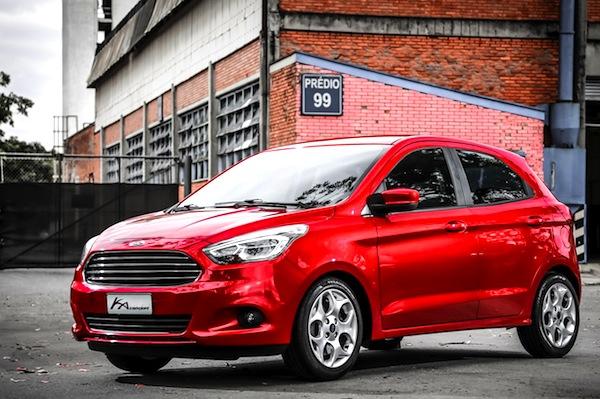 Ford Ka Brazil September  Picture Courtesy Of Uol Com Br