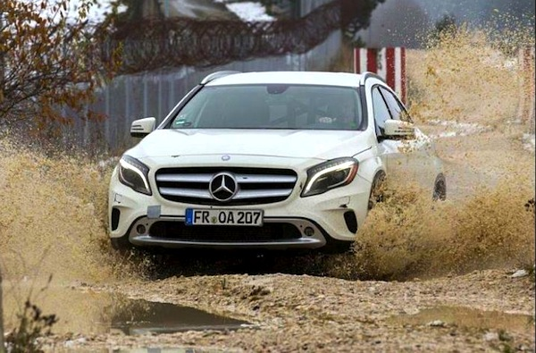 Mercedes GLA South Africa September 2014. Picture courtesy of autoblog.hr