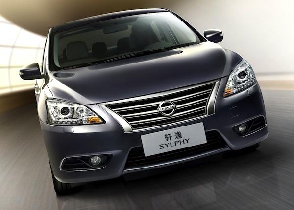 Nissan Sylphy Malaysia September 2014