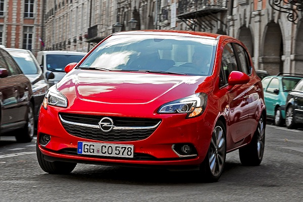 Opel Corsa Finland May 2015. Picture courtesy of autobild.de
