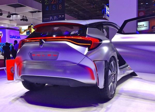 Renault Eolab Concept Paris Auto Show 2014