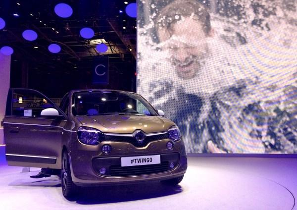 Renault Twingo Paris Auto Show 2014b