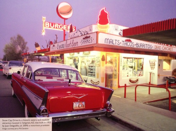 Snow Cap Drive-In Route 66