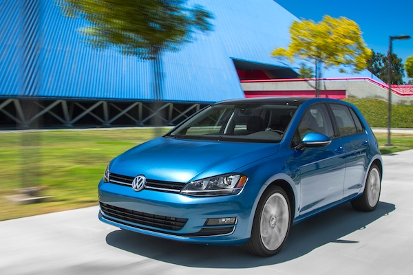 VW Golf Canada October 2014. Picture courtesy of motortrend.com