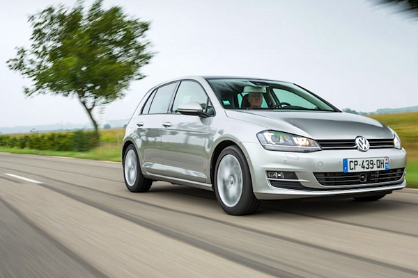 VW Golf Montenegro 2014. Picture courtesy of largus.fr