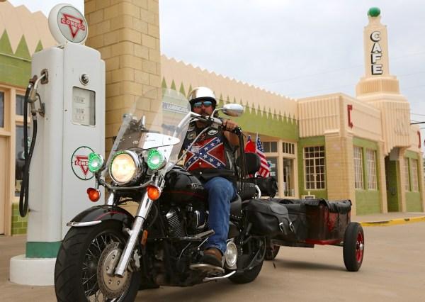 16. Biker Shamrock TX