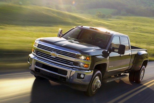 Chevrolet Silverado 3500 USA October 2014