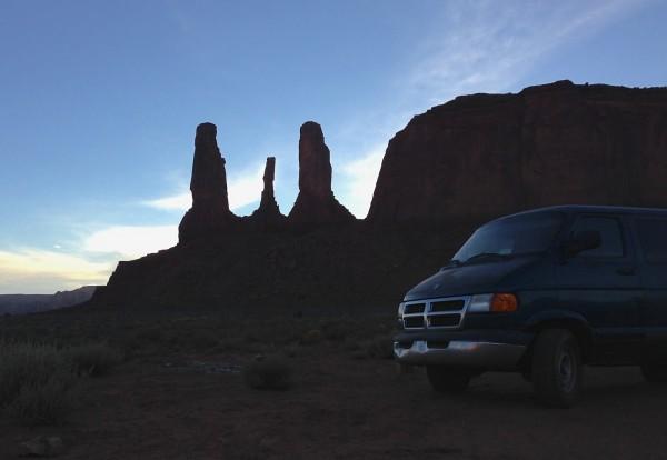 Dodge Van Monument Valley