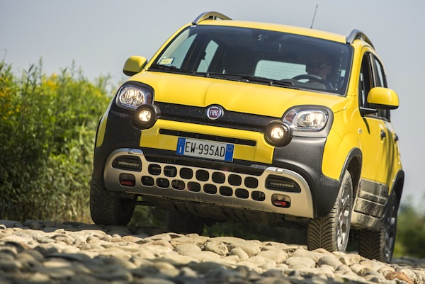 Fiat Panda Angola May 2016. Picture courtesy of largus,fr