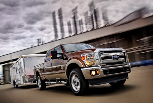 Ford F-350 Super Duty USA October 2014