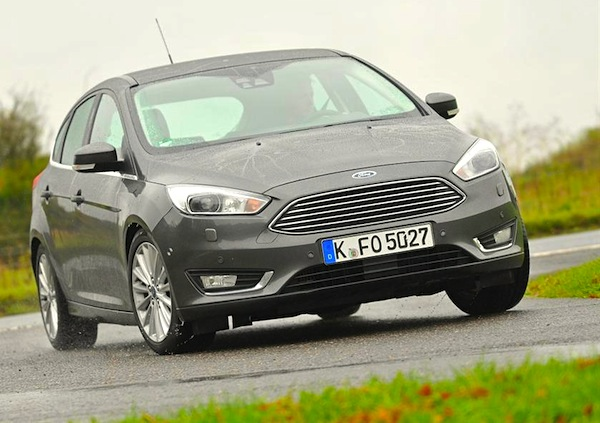 Ford Focus Germany October 2015. Picture courtesy of whatcar.co.uk