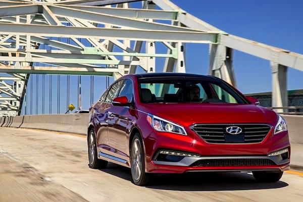 Hyundai Sonata South Korea June 2014. Picture courtesy of caranddriver.com