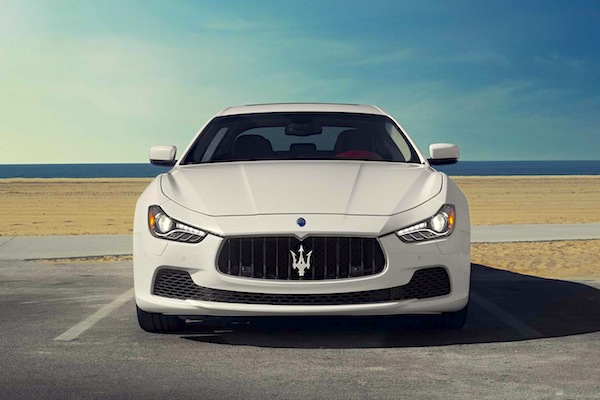 Maserati Ghibli USA October 2014. Picture courtesy of largus.fr