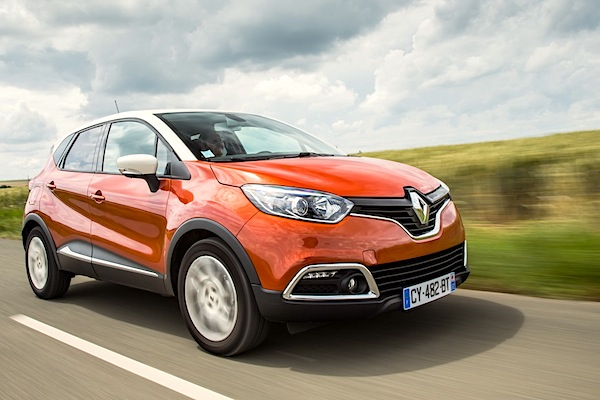 Renault Captur Germany 2014. Picture courtesy of largus.fr