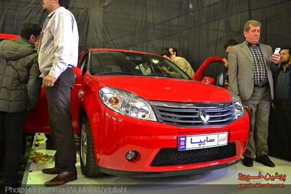 Saipa Renault Sandero Iran October 2014