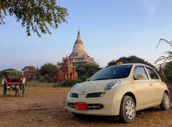 1. Nissan March Bagan