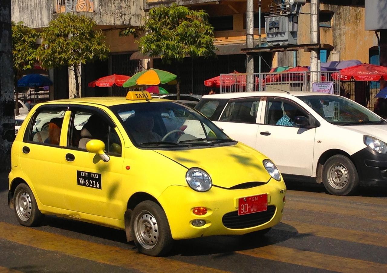 Taxi Car Price In Myanmar