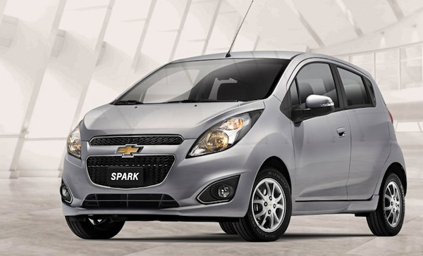 Chevrolet Spark GT Chile October 2014