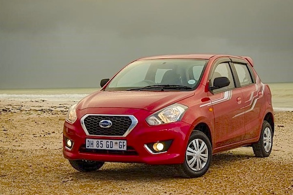 Datsun Go Botswana 2015. Picture courtesy of cars.co.za