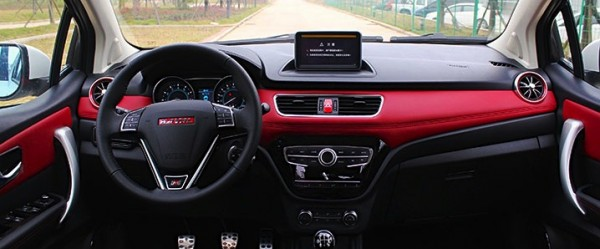 Haval H1 interior. Picture courtesy of changsha.auto.sohu.com
