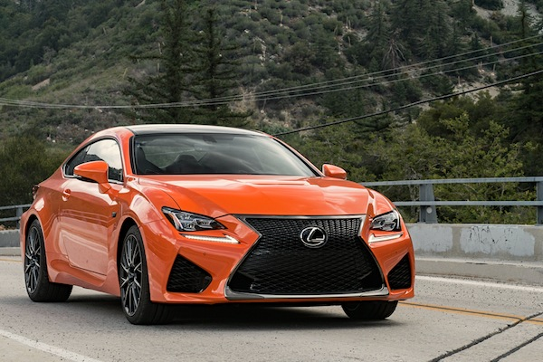 Lexus RC USA November 2014. Picture courtesy of motortrend.com