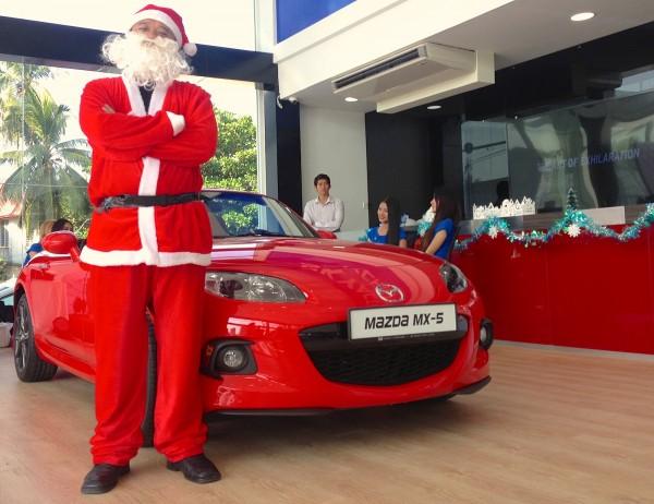 Mazda Santa Claus Showroom Yangon 4