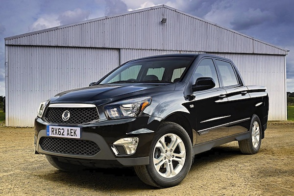 SSangyong Actyon Sports Chile October 2014