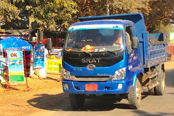 Skat Truck Bagan