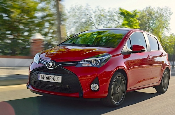 Toyota Yaris Greece 2015. Picture courtesy of largus.fr