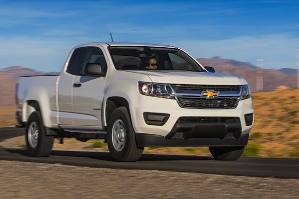 Chevrolet Colorado USA January 2015. Picture courtesy of motortrend.com