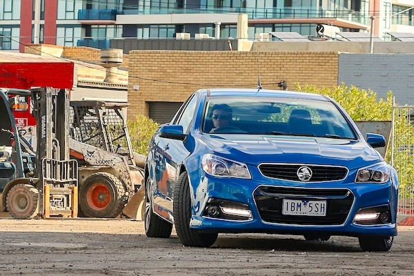 Holden Commodore Ute Australia 2014. Picture courtesy of caradvice.com.au