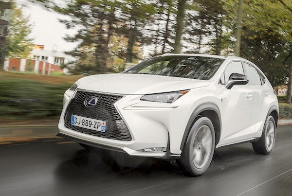 Lexus NX300h Poland August 2015. Picture courtesy of largus.fr