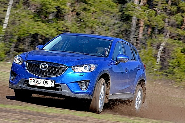Mazda CX-5 Russia December 2014. Picture courtesy of zr.ru