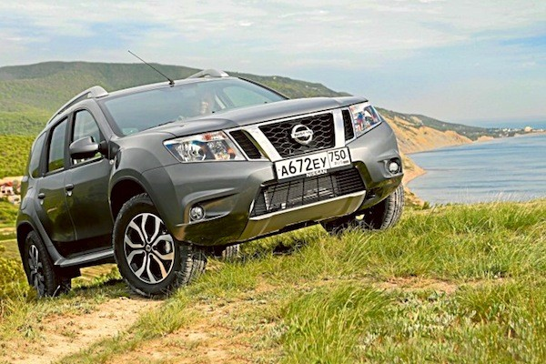 Nissan Terrano Russia 2014. Picture courtesy of zr.ru