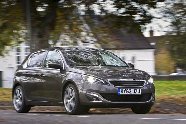 Peugeot 308 Spain January 2016. Picture courtesy of autocar.co.uk