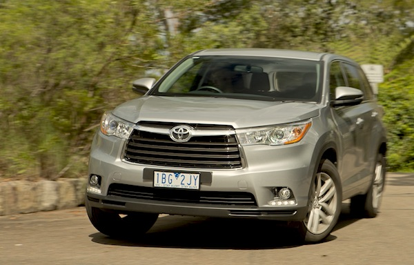 Toyota Highlander NZ 2014. Picture courtesy of caradvice.com.au