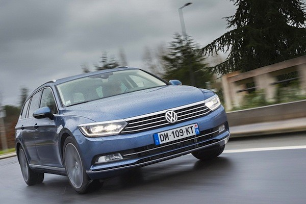 VW Passat Germany December 2014. Picture courtesy of largus.fr